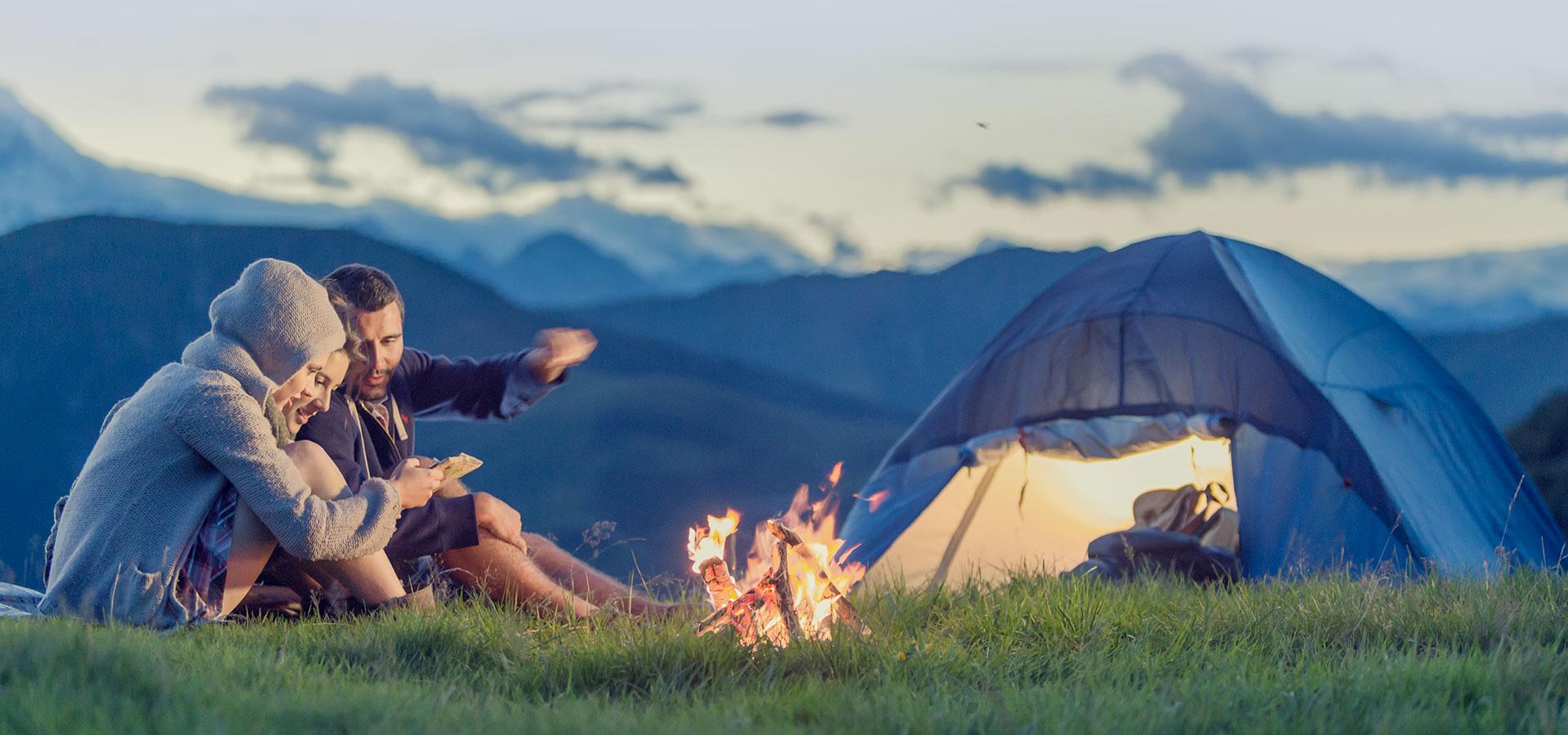Un week-end en camping